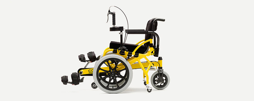 Pedal Wheelchair COGY Eye catch img